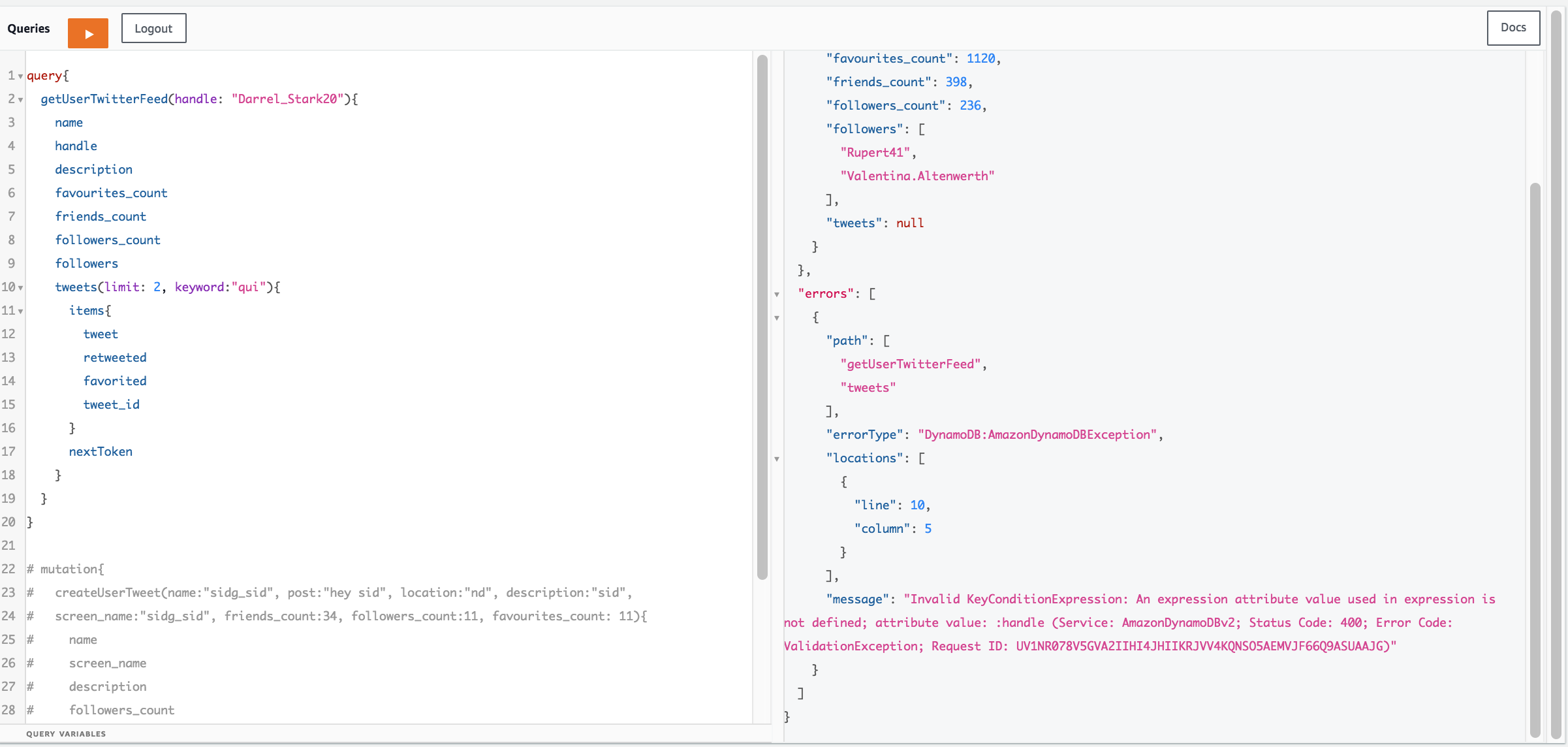 Pagination with Filtering in DynamoDB Template · Issue #19 · awslabs