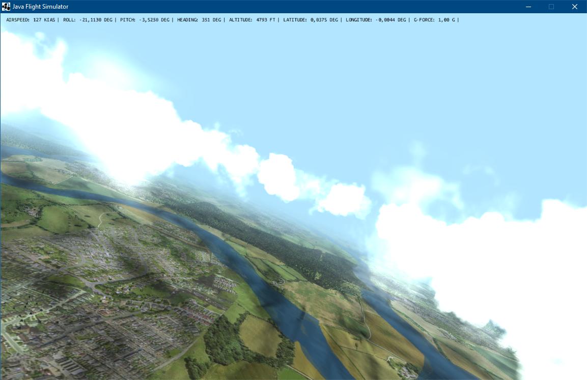 GitHub - chris-ali/j6dof-flight-sim: A high fidelity 6DOF flight