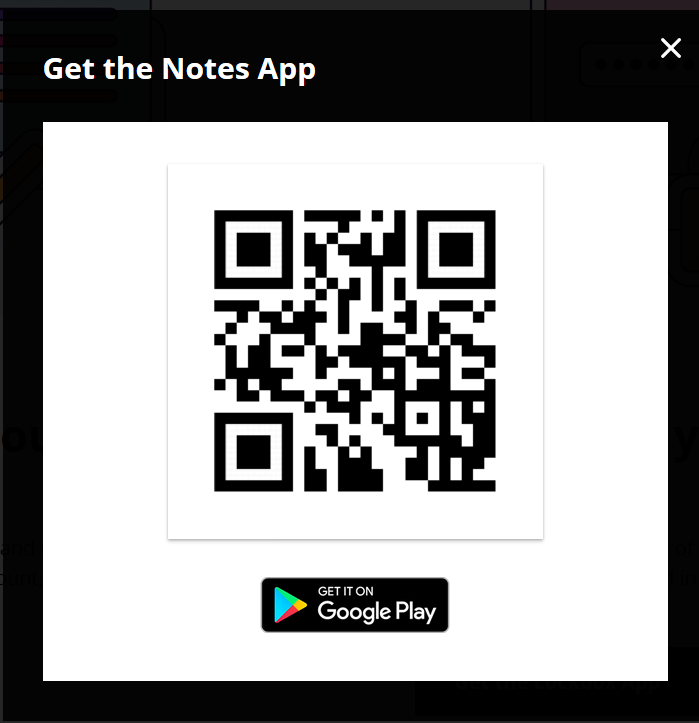 QR code on Notes and Lockbox is flipped · Issue #6594