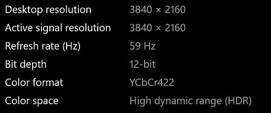 Feature requrest: native 10 bit output for MS Windows 10