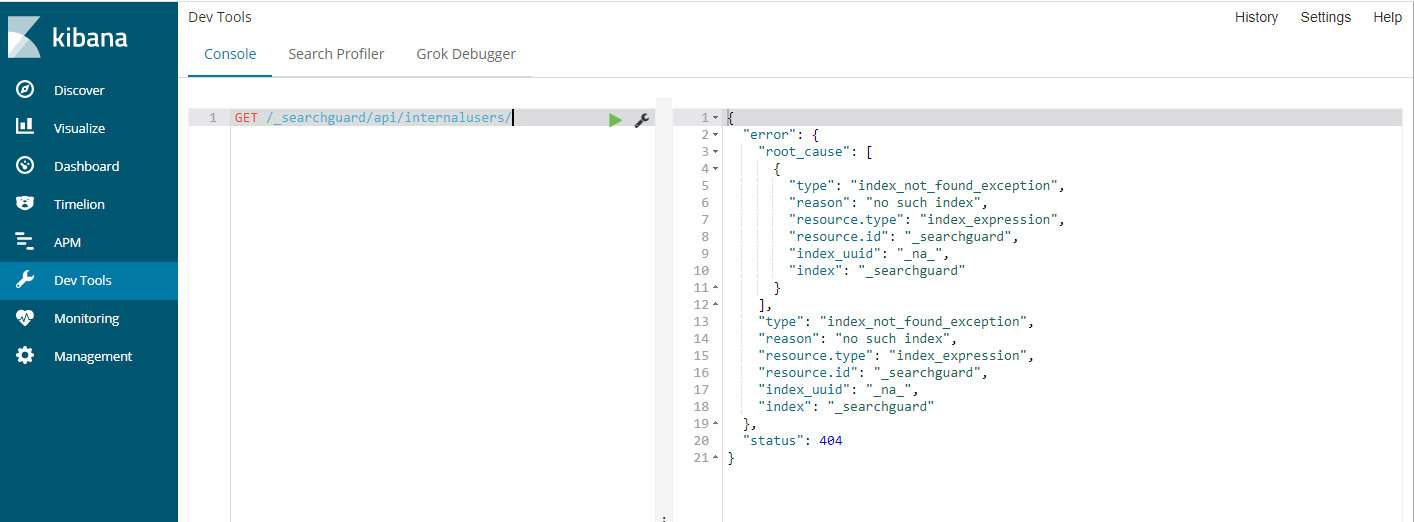 Search Guard GUI not show in kibana 6 2 2 · Issue #84
