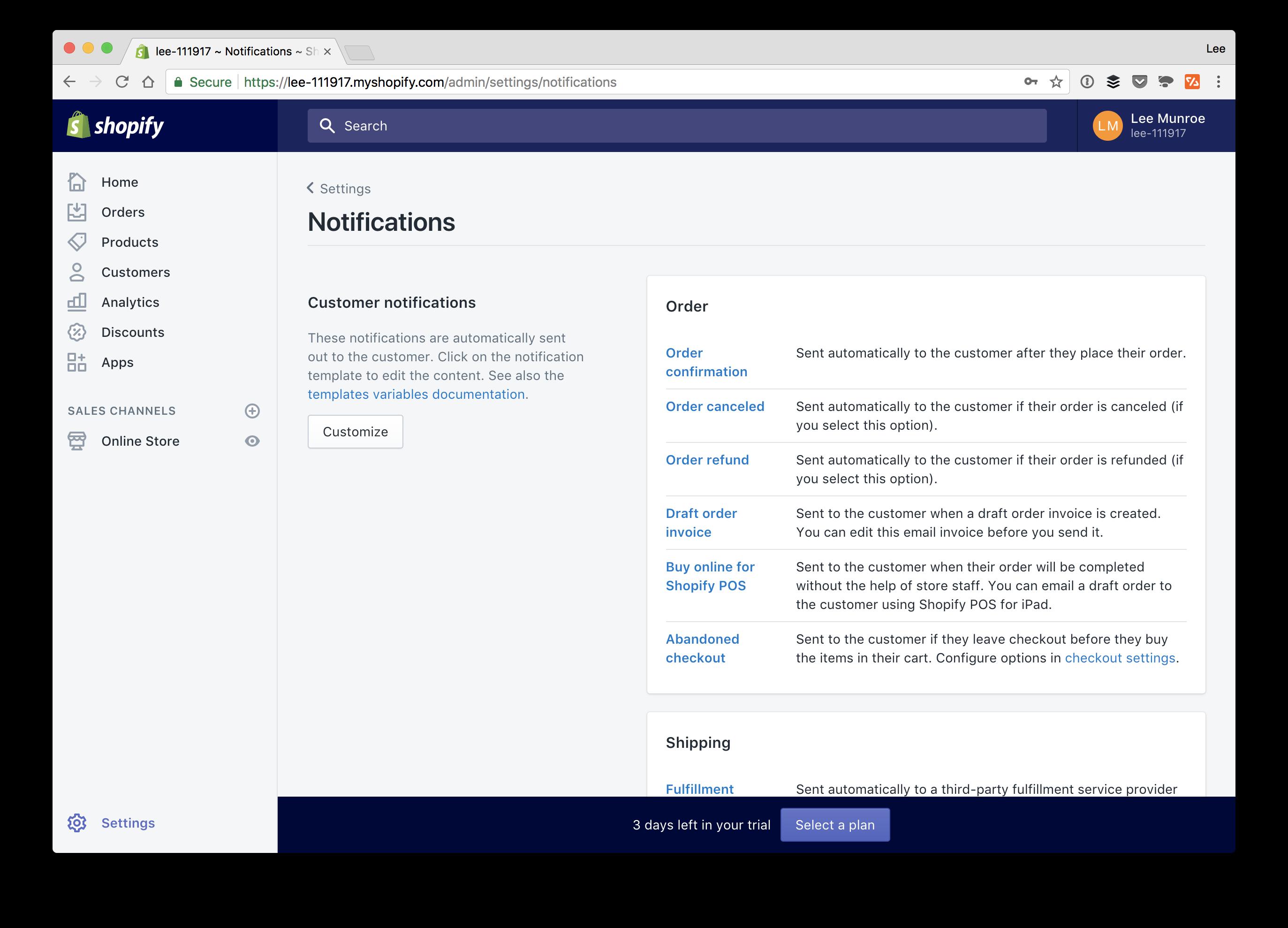Github Leemunroeshopify Email Templates Shopify Html Email