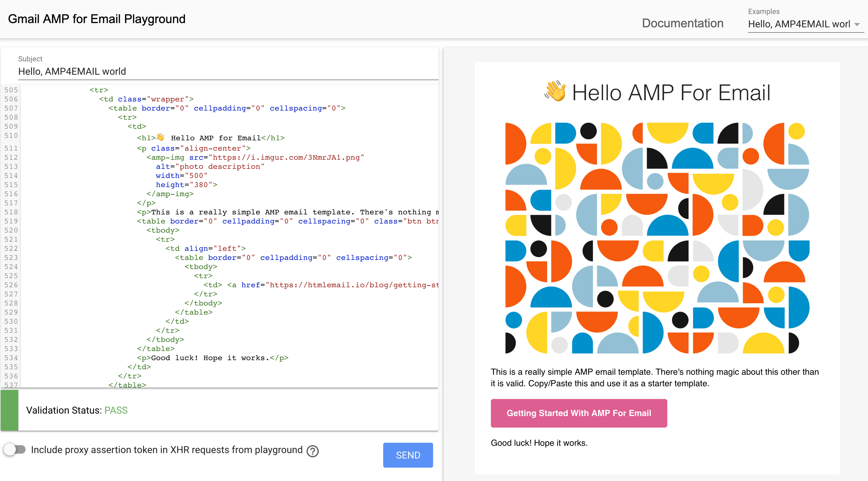 GitHub - leemunroe/amp-email-templates: Simple AMP for Email