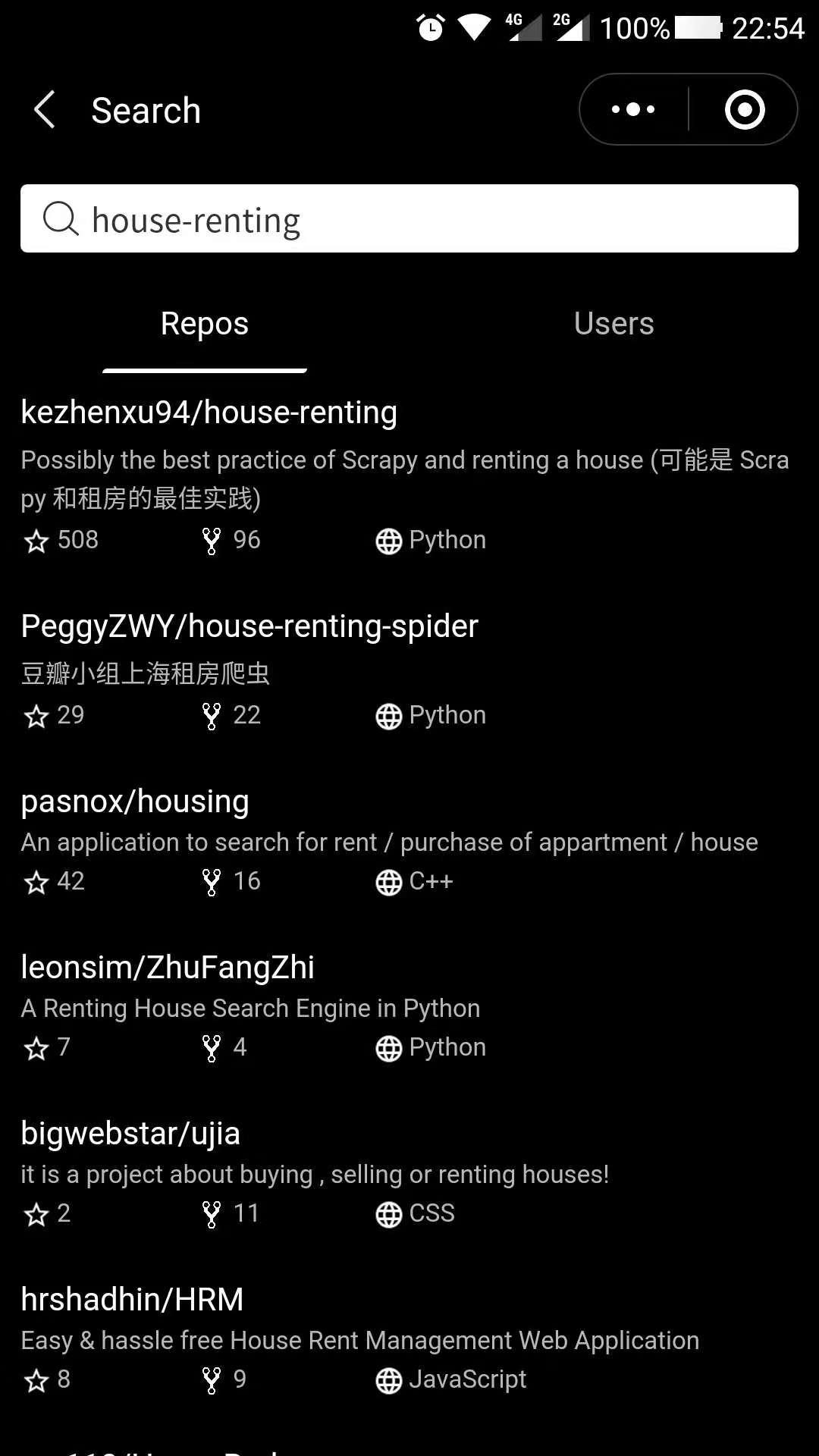search-repos