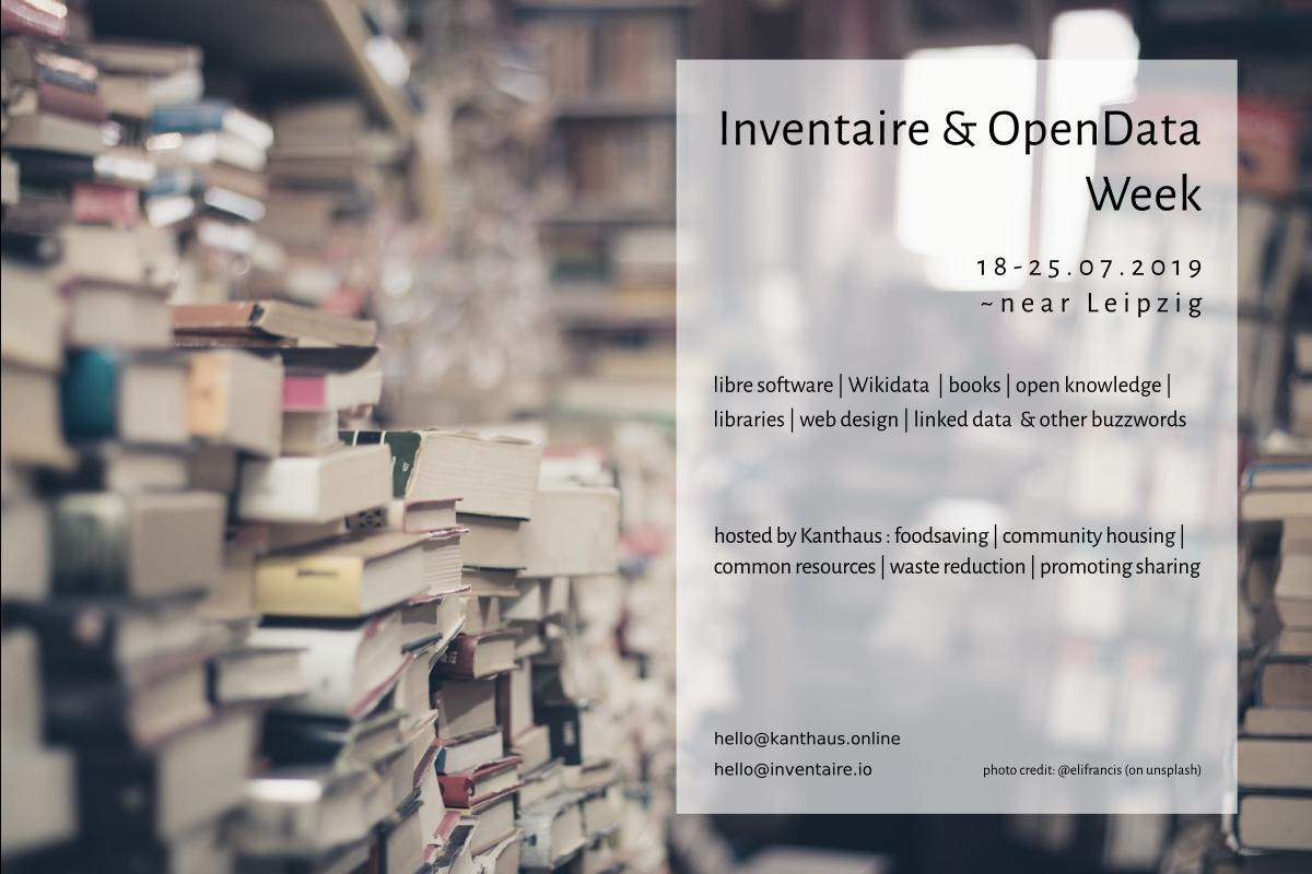 Inventaire & OpenData Week 2019