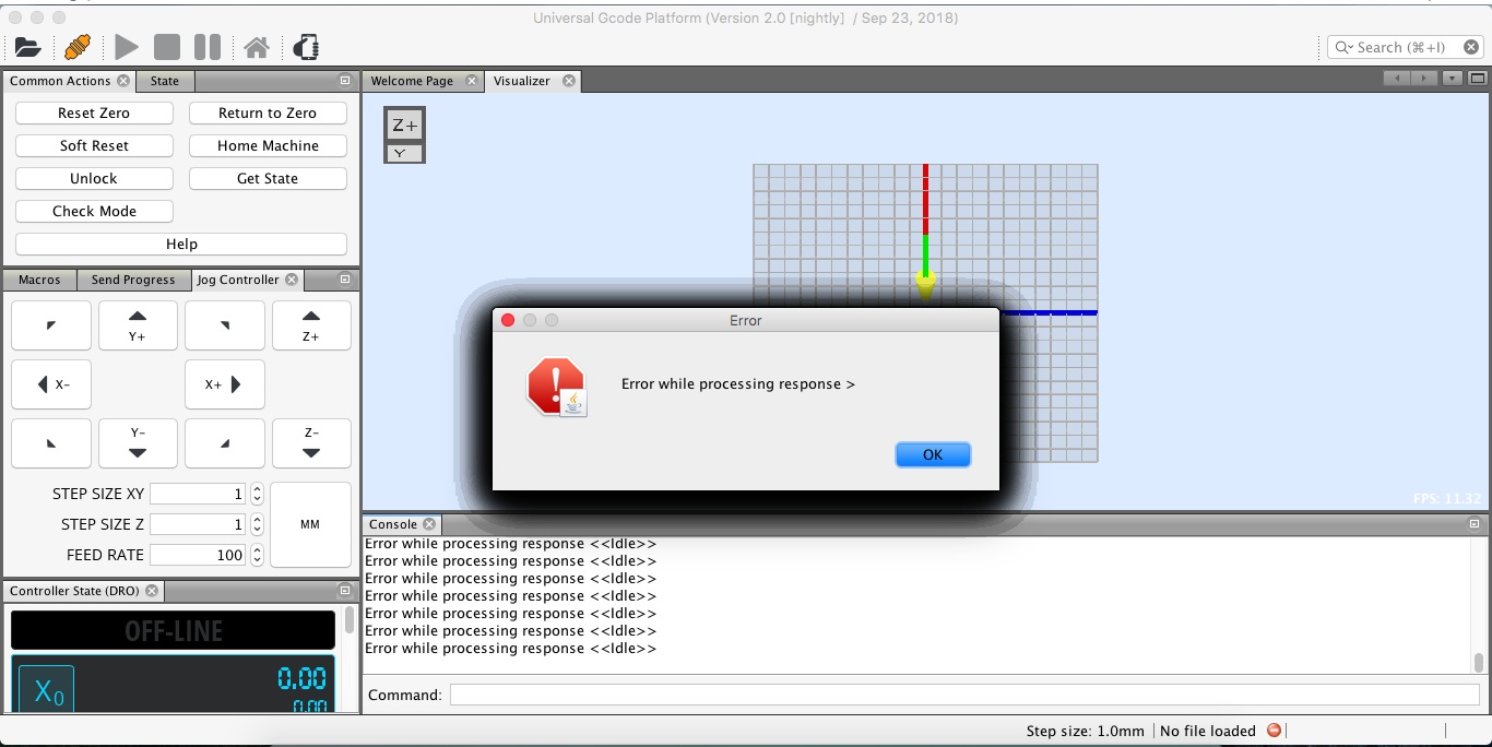 error while processing response · Issue #1131 · winder