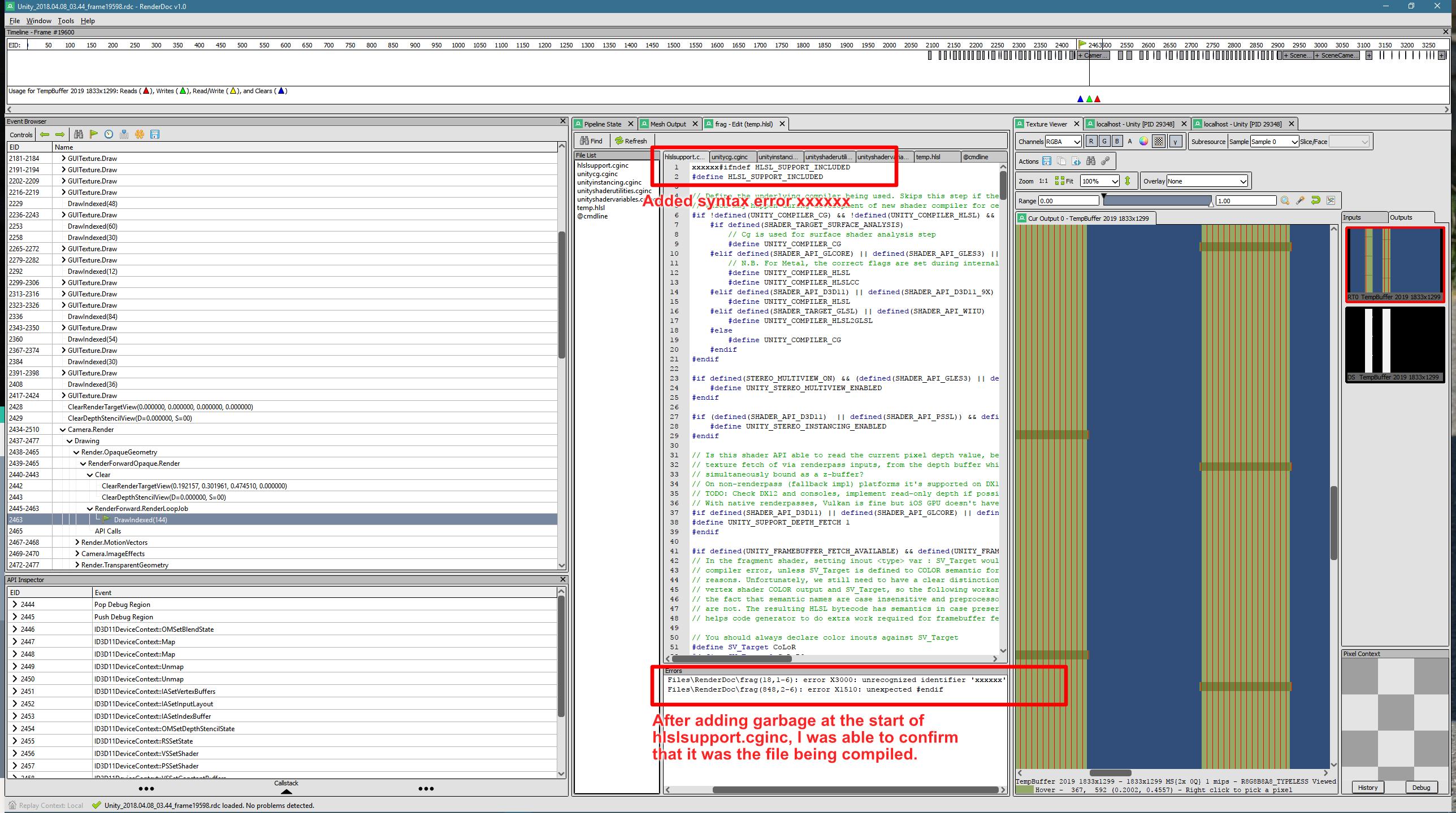 Wrong shader file in editor · Issue #950 · baldurk/renderdoc