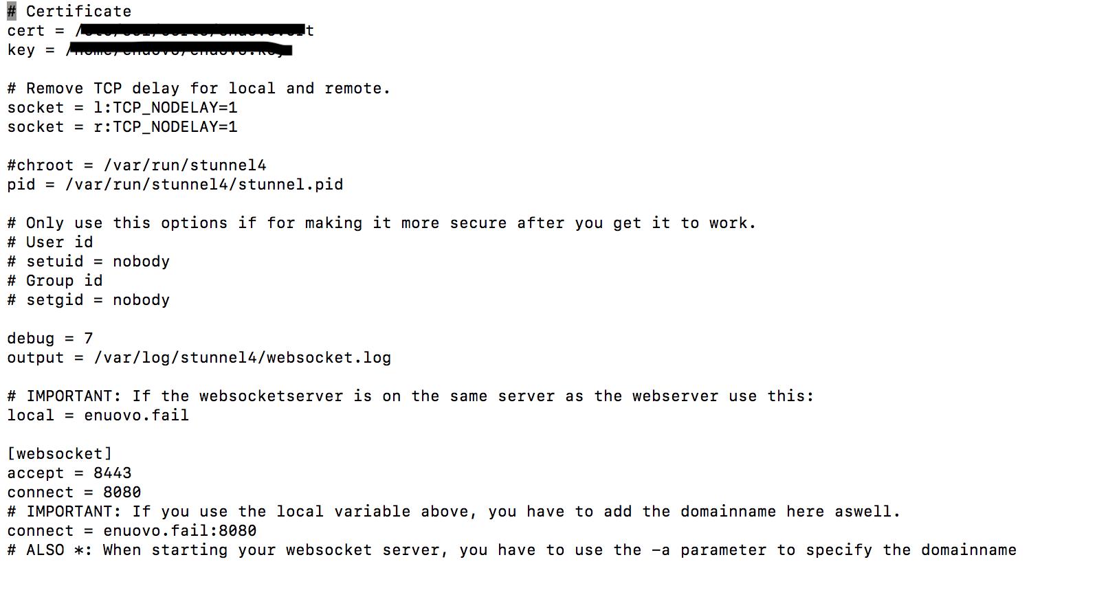 Error establishing connection in SSL · Issue #272