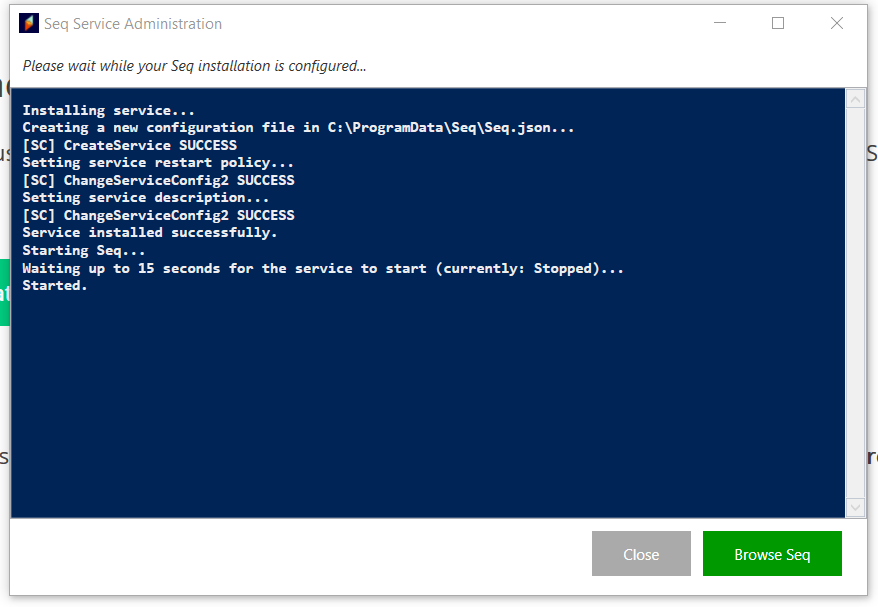 ChangeService2 messages after Windows install · Issue #733