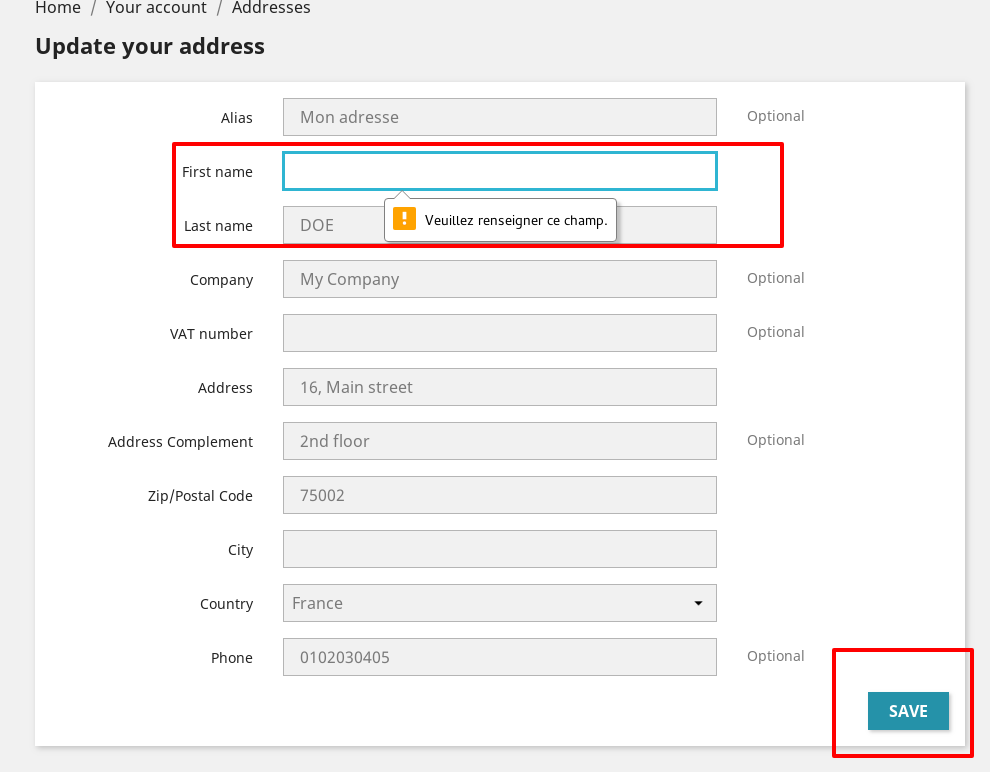 Removal of js address form validation in 1 7 5 2 · Issue