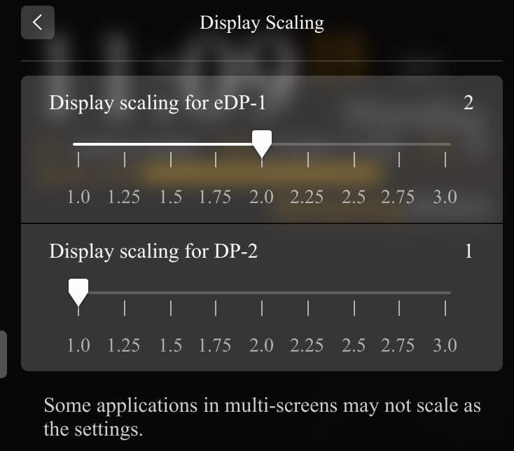 feature request: per-display scaling · Issue #84