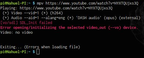 YouTube pipe vidéo