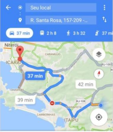 start external map navigation from ionic 2 app for ios and