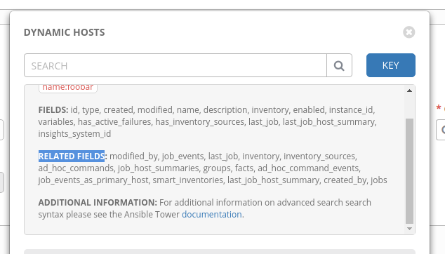 Smart Inventory, unable to search by related fields · Issue