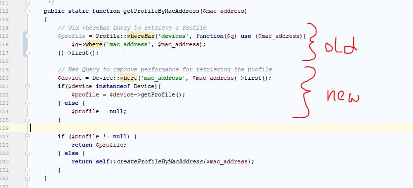 WhereHas query is too slow · Issue #18415 · laravel/framework · GitHub
