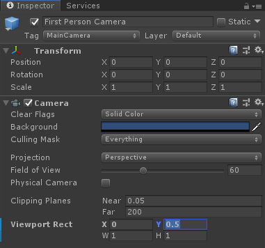 Camera viewport rect issue · Issue #597 · google-ar/arcore-unity-sdk