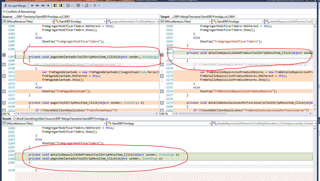 Add built in UI based merge conflict tool · Issue #35760