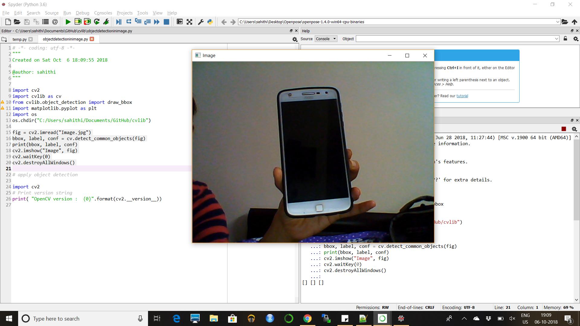 Could not read frame · Issue #2 · arunponnusamy/cvlib · GitHub
