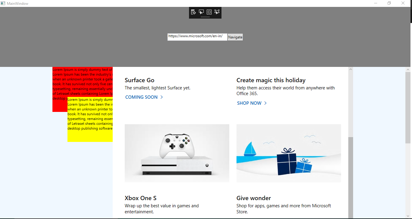 microsoft toolkit wpf ui controls webview control goes out of scroll