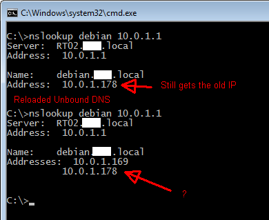 Unbound DNS DHCP registration can stop working