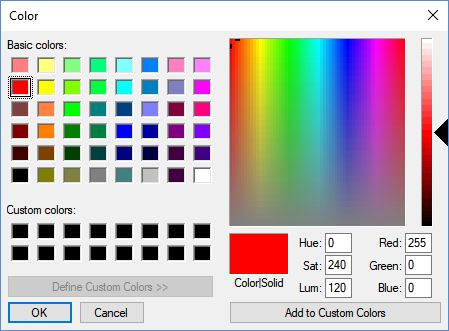 Feature Request] use HSL & RGB Hex + show current values on