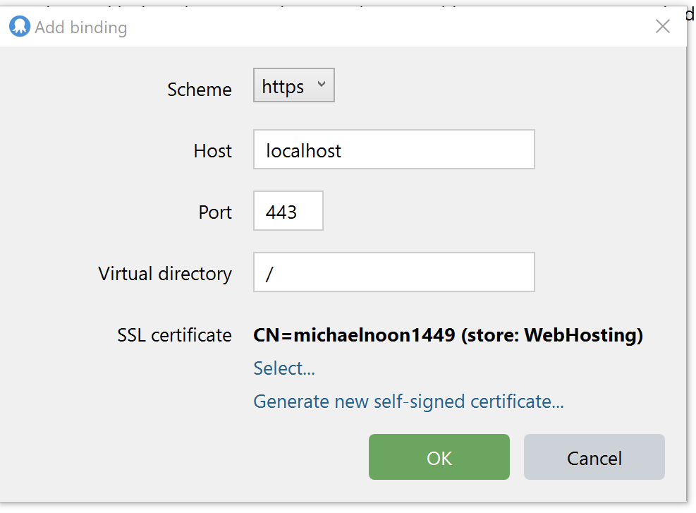 New Octopusrverexe Ssl Certificate Command Doesnt Support The