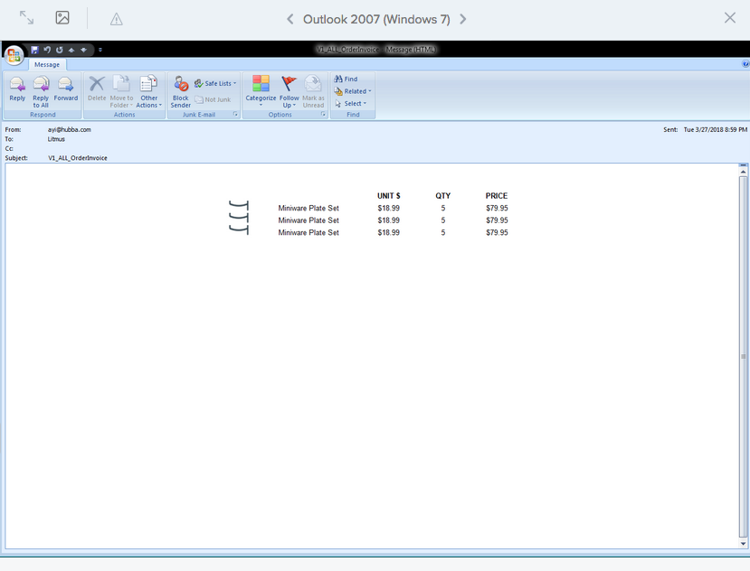 Height of images in table are cropped in Windows 7 Outlook