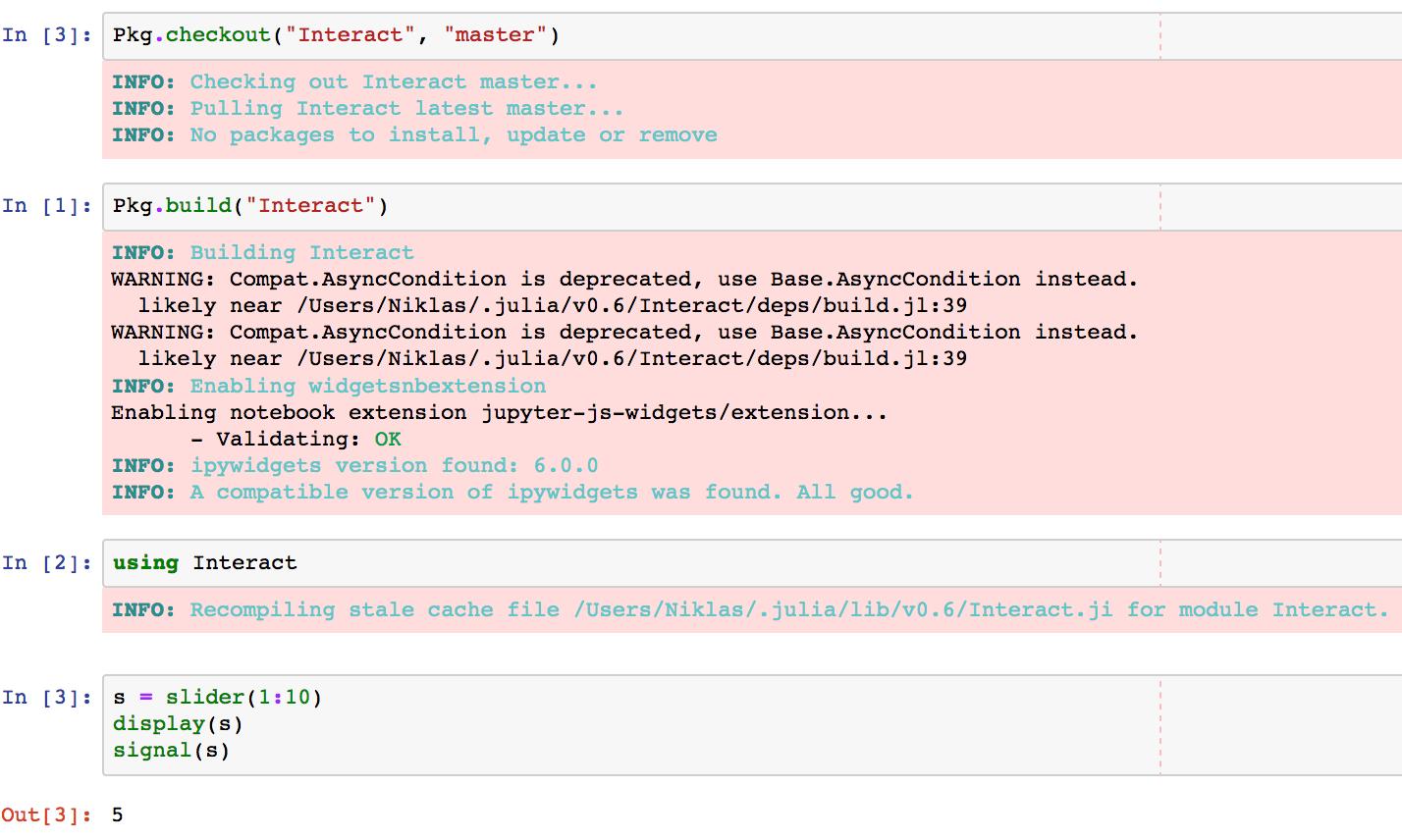 no widget shows and no error message · Issue #182