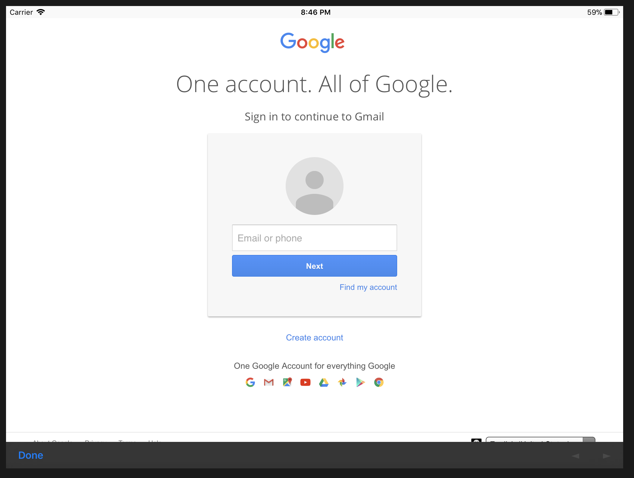 Authentication prompt not happening in inappbrowser · Issue