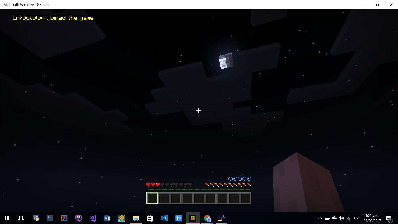 minecraft pe locating server bug