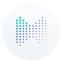 Musxmatch Ai mac app icon-128