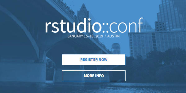 rstudio::conf 2019 is open for registration!