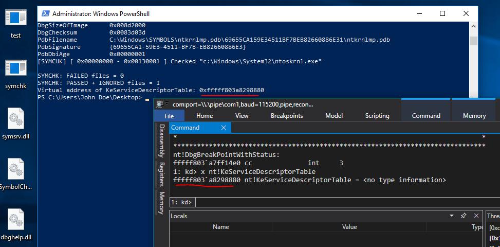 ntoskrnl.exe symbols download