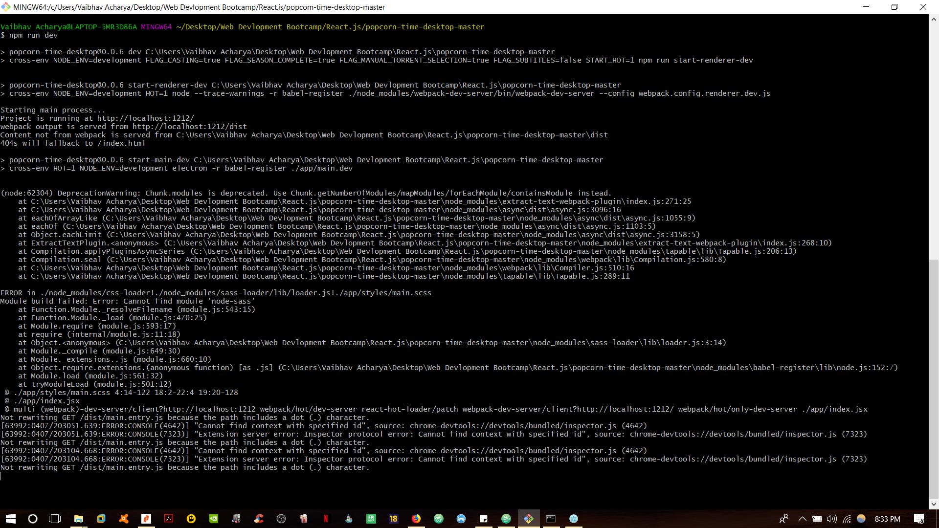 DOT character · Issue #233 · amilajack/popcorn-time-desktop · GitHub