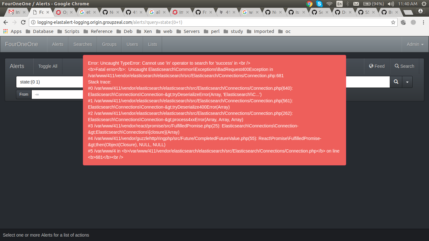 Could Not Connect With Self Sign Certificate Of Elasticsearch