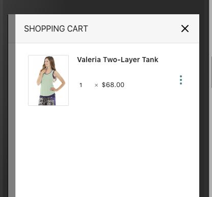add variant information to cart item display · issue #553 ·  magento/pwa-studio · github  github