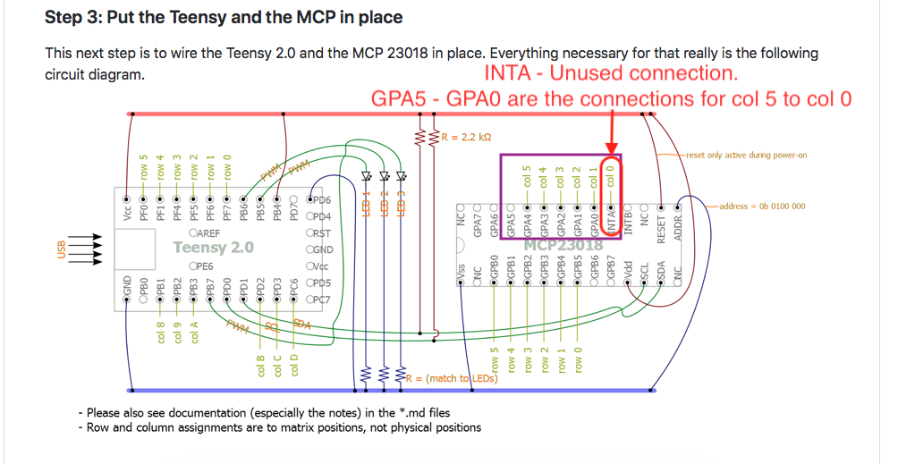 Awesome Incorrect Pinout With The Teensy Mcp Diagram In Guide Circuit Wiring 101 Vieworaxxcnl
