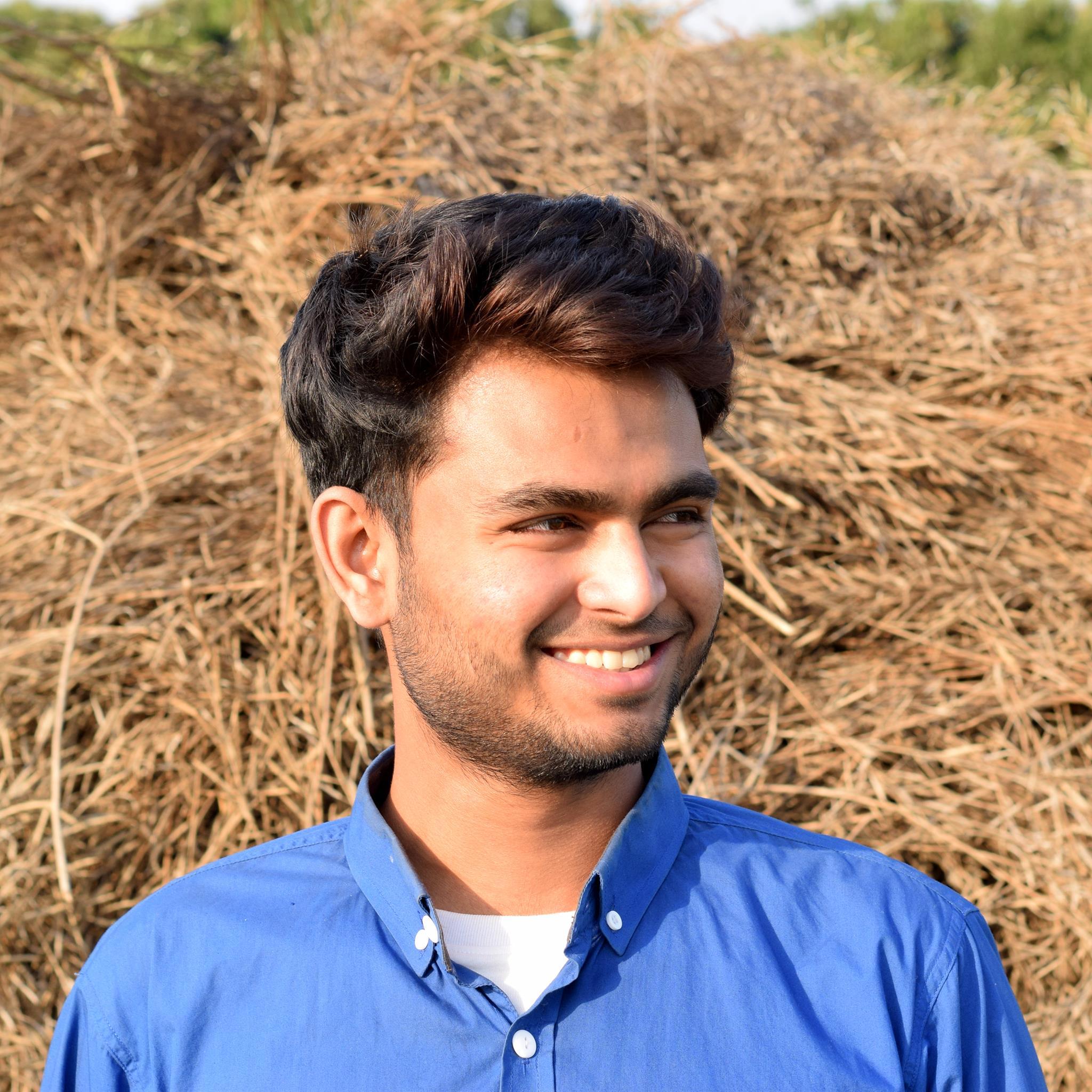 A smiling photo of Mahmudul Hasan
