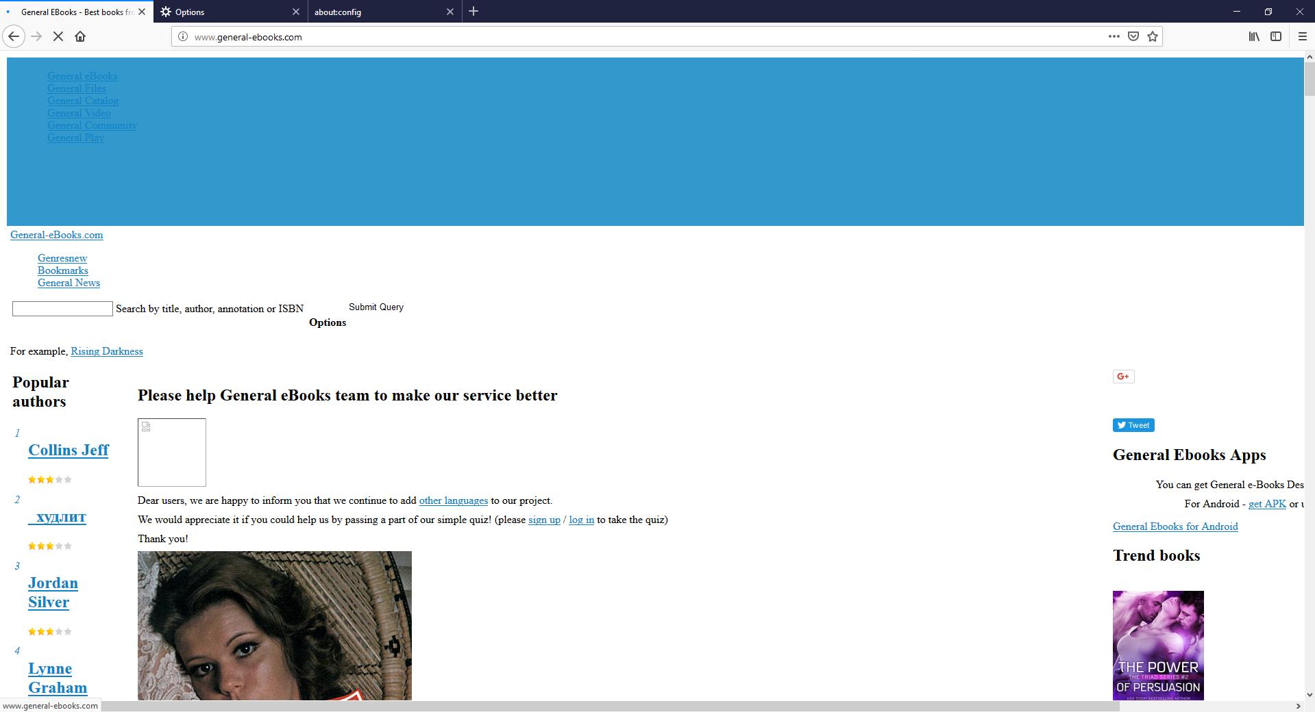 Www General Ebooks Com Design Is Broken Issue 18550 Webcompat
