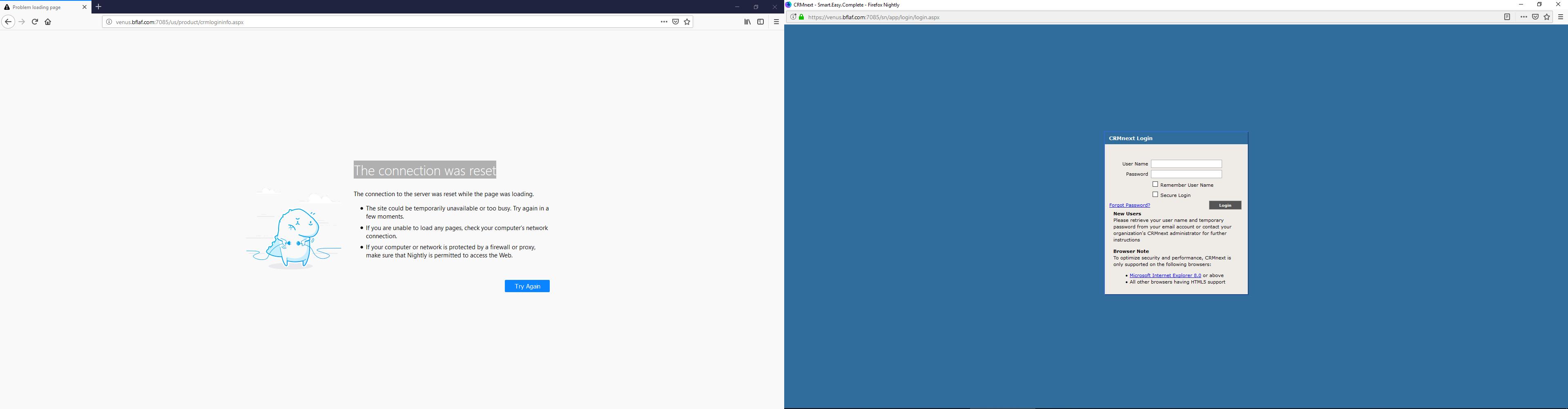 venus bflaf com:7085 - see bug description · Issue #20486