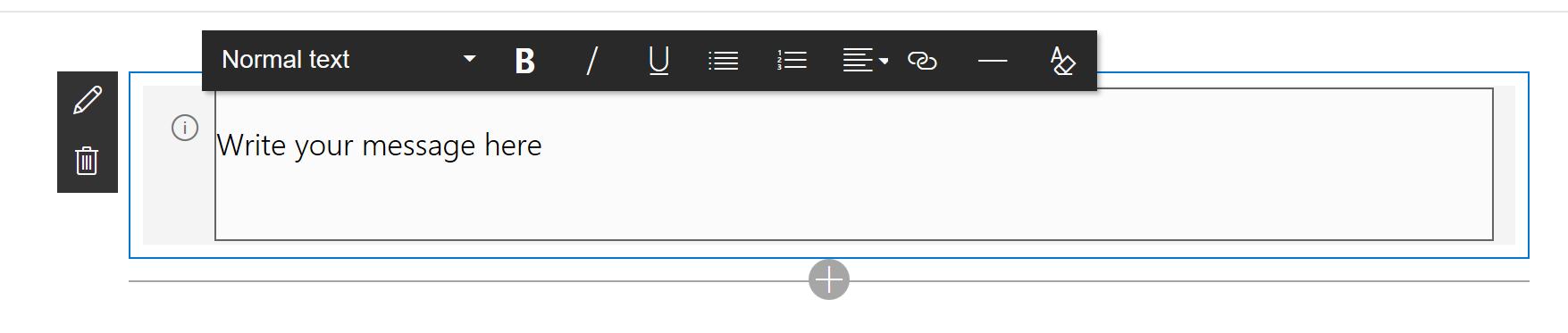 custom textbox