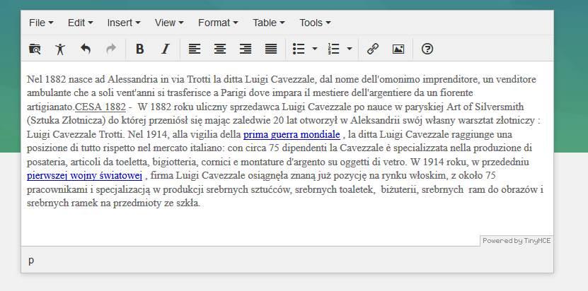 BUG: TinyMCE any version // Win, Mac // Chrome, Firefox