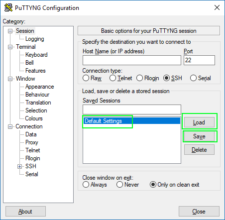 Unable to save putty settings in the mremoteNG · Issue #960