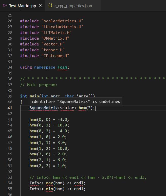 IntelliSense engine views  C extension file as c file