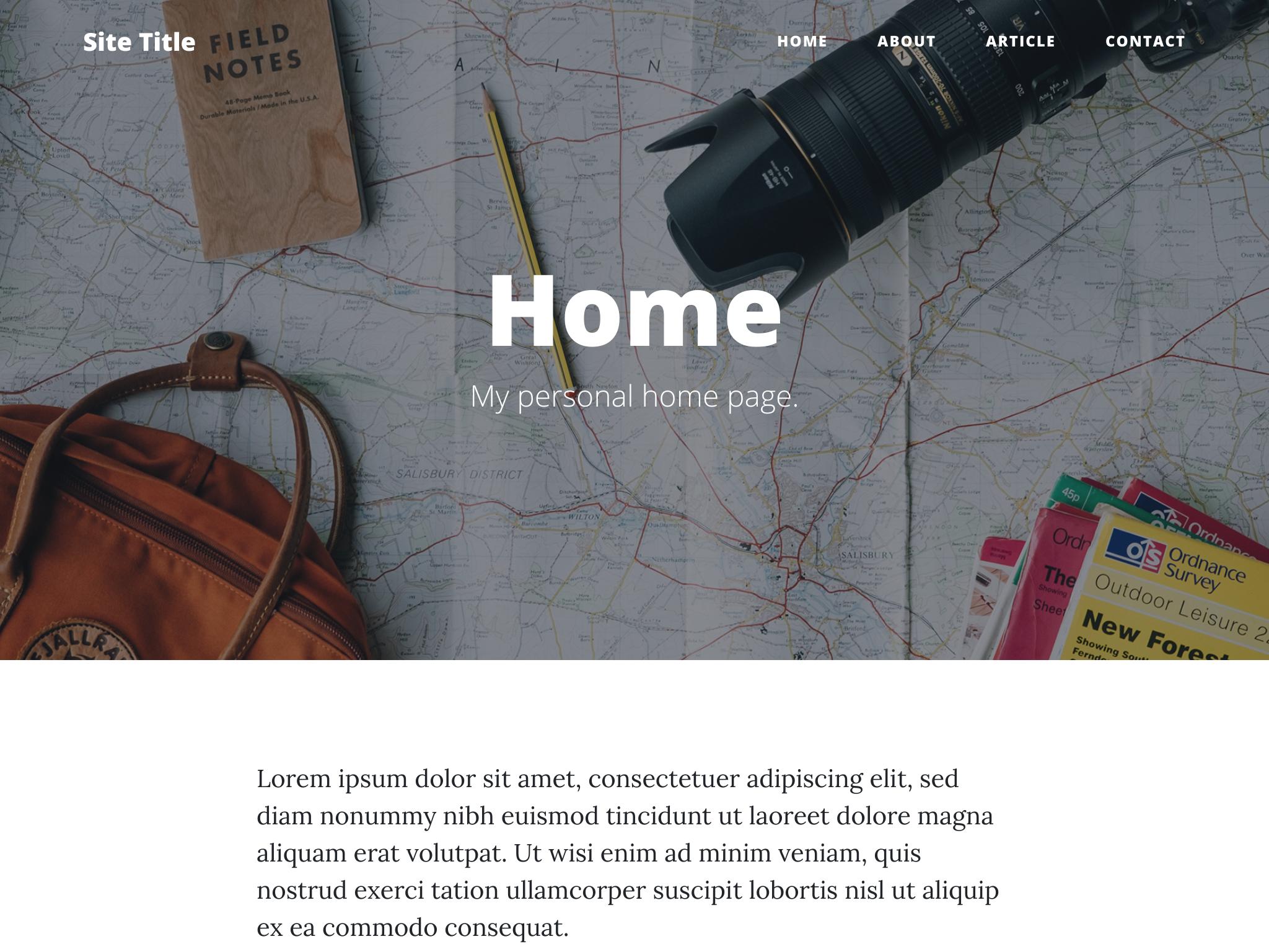 Clean Blog