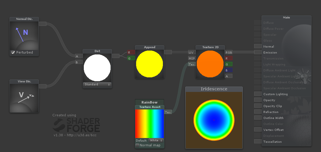 GitHub - smkplus/Iridescence: Iridescence shader