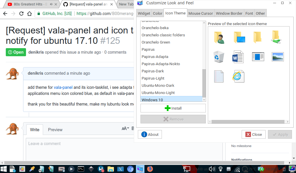 Request] vala-panel and icon task list, also renew xfce