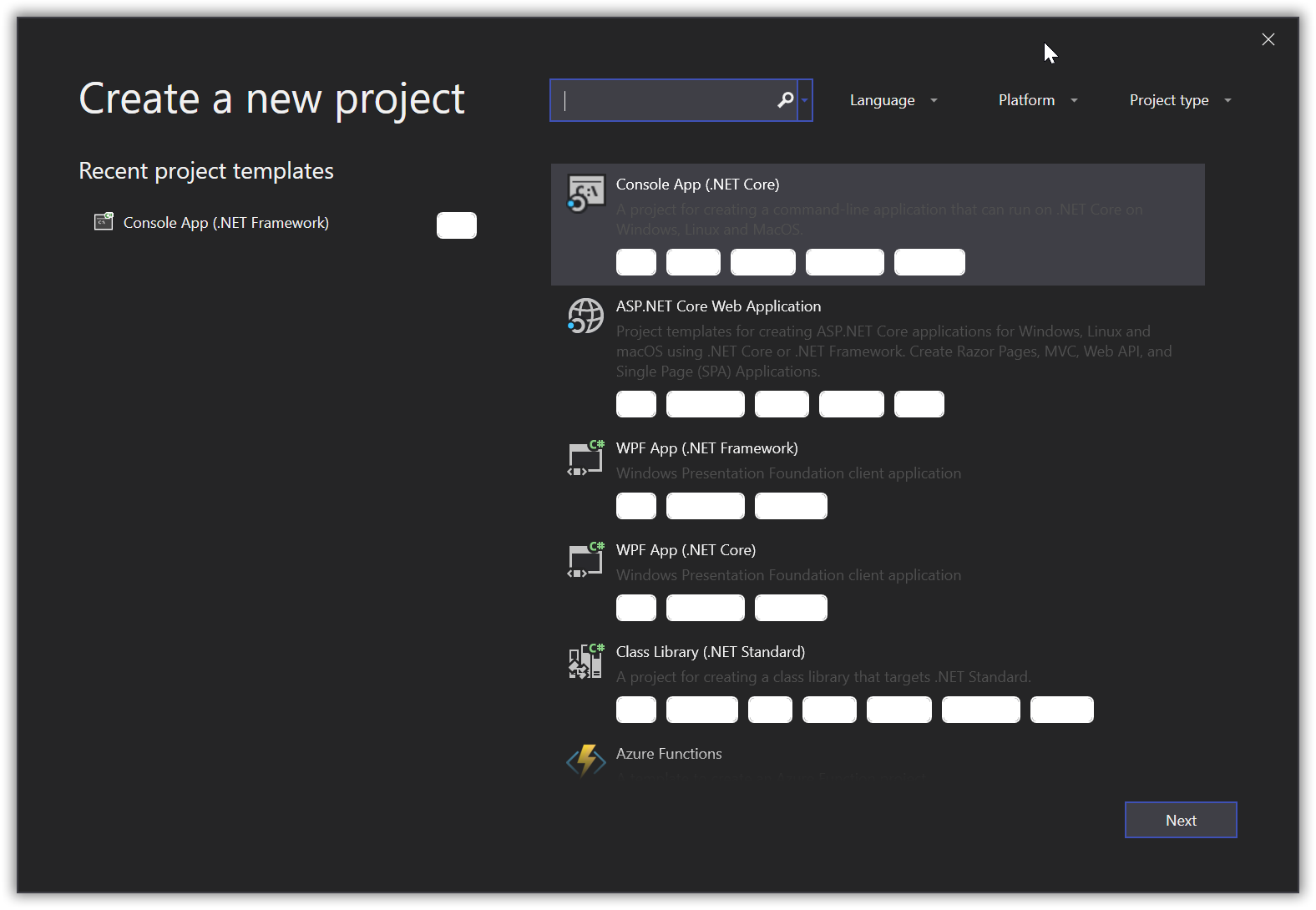 Material Dark theme color issue with Visual Studio 2019