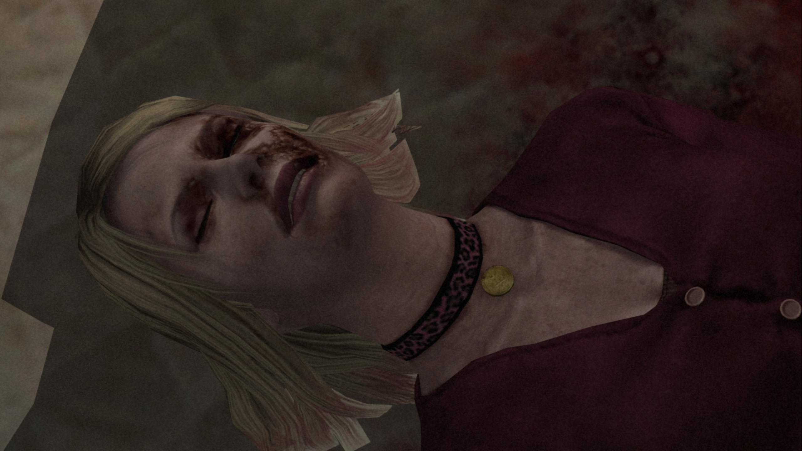 Maria S Hair Not Transparent In A Cutscene Issue 91 Elishacloud Silent Hill 2 Enhancements Github