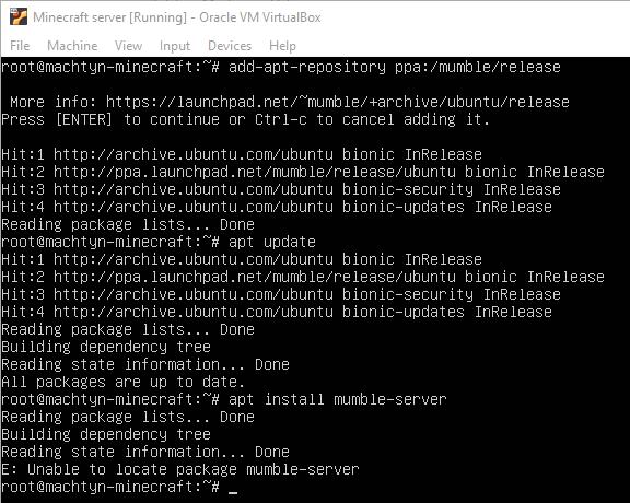 mumble and mumble-server aren't found in repo (Ubuntu